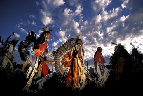 Pow Wow Warm Springs Reservation, Oregon, USA